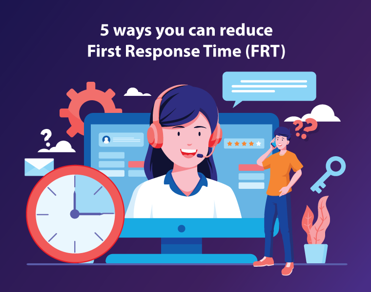 Improve First Response Time with 5 simple ways